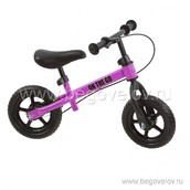 Беговел FunKids On-the-Go с ПВХ колесами (фиолетовый)