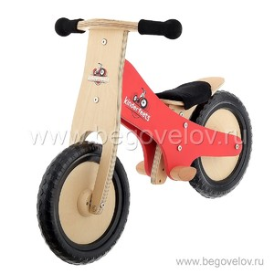 Беговел Kinderfeets Classic (красный)