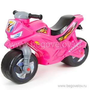 Беговел-мотоцикл RT ОР501 Racer RZ 1 (розовый)