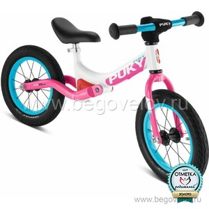 Беговел Puky LR Ride (white/pink)