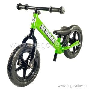 """Беговел Strider 12"""" Classic (зеленый)"""