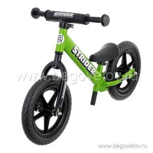 """Беговел Strider 12"""" Sport 2016 (зеленый)"""