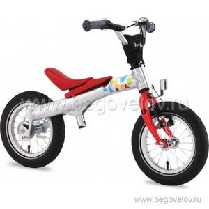 """Беговел-велосипед (2 в 1) Rennrad 12"""" (красный)"""