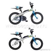 """Беговел-велосипед (2 в 1) Rennrad 16"""" (синий)"""