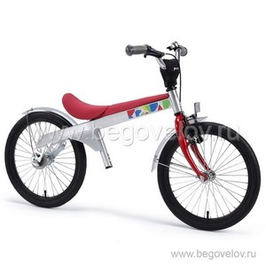 """Беговел-велосипед (2 в 1) Rennrad 18"""" (красный)"""