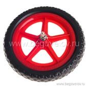 Цветное колесо Strider из EVA полимера (красное)