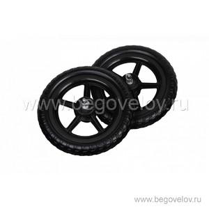Колеса непрокалываемые для беговела Runbike (пластиковая втулка)