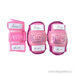 Комплект защиты Vinca Sport (розовый)