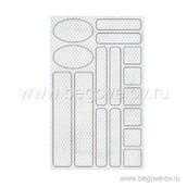 Набор защитных светоотражающих наклеек (белый)