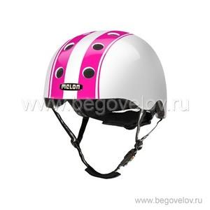 Шлем Melon Double Pink White