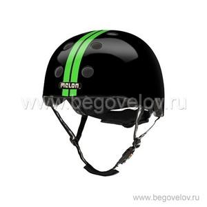 Шлем Melon Straight Green Black