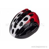 Шлем Runbike Inmold M (красно-черный)