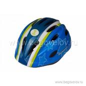 Шлем Runbike Inmold S (сине-зеленый)