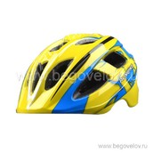 Шлем Runbike Inmold S (сине-желтый)