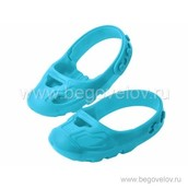 Защита обуви при катании на беговеле и каталке Smoby (голубая)